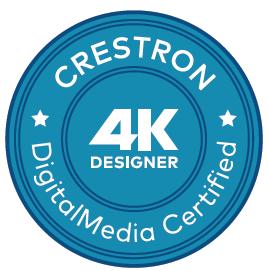 Crestron Digital Media 4K Certified Designer