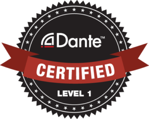 Dante Certified Level 1 Badge