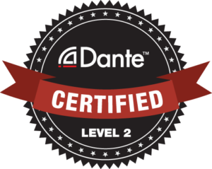 Dante Certified Level 2 Badge